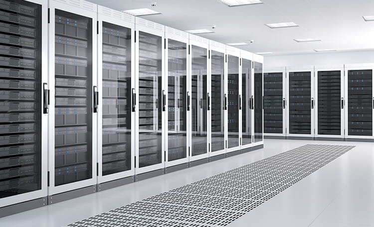 Data Center Server Room