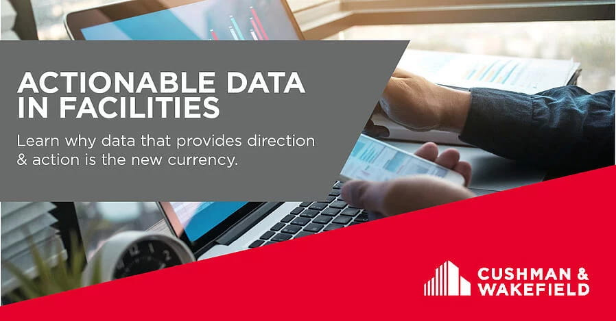 Actionable Data in Facilities Banner
