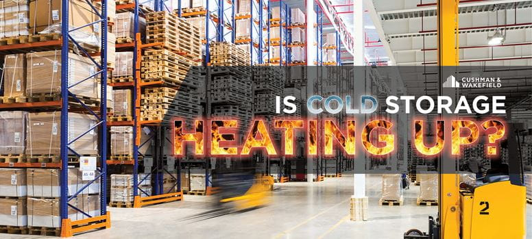 Cold Storage Heating Up Article