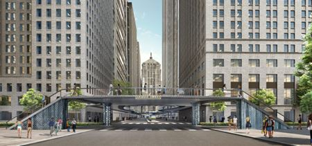 Chicago Central Loop Connector Rendering