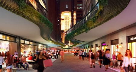 Chicago's Central Loop Concept Rendering