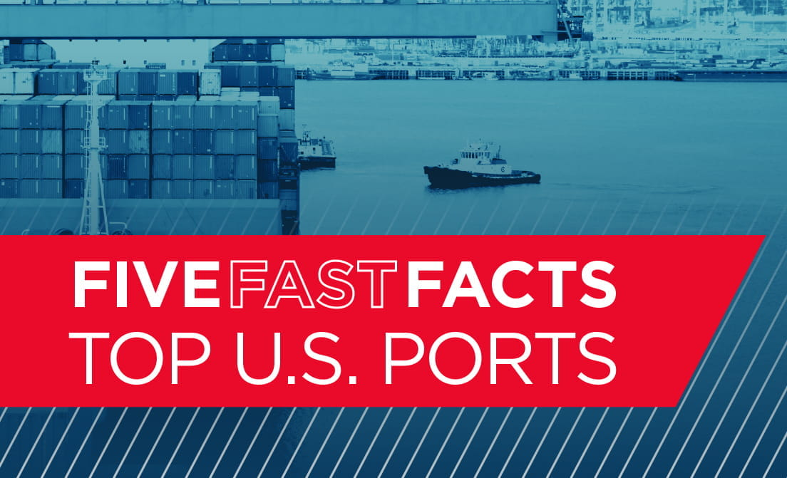 Five Fast Facts Top US Ports