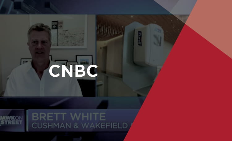 Brett White CEO on CNBC (image)